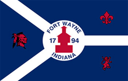 Flag of Fort Wayne, IN